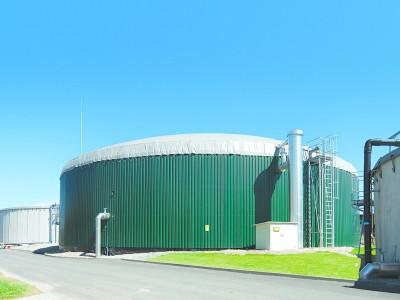 Bioplyn Třeština s.r.o. - novostavba bioplynové stanice Třeština