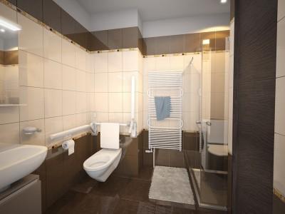 Seniorské apartmány, Nový Malín