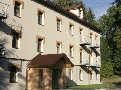 BENT HOLDING, a.s., Rekonstrukce lázeňského domu Božena Velké Losiny