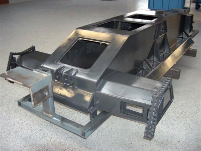 CHASSIS WITHOUT SPRAYING
