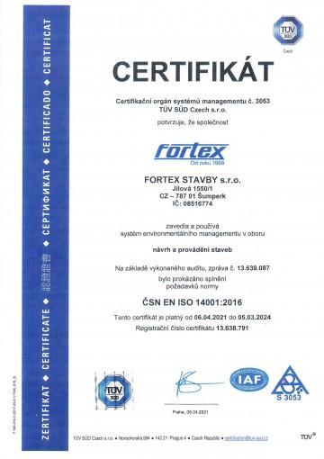 ČSN EN ISO 14001:2016