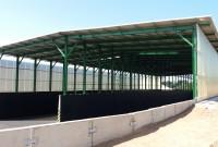 Farma chovu dojnic společnosti ŽIVA v Českých Petrovicích